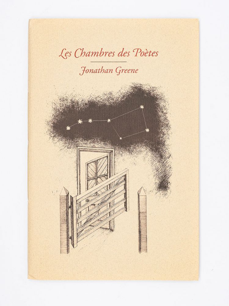 Les Chambres des Poetes; With Drawings by John Furnival and Foreword by Guy Davenport. JONATHAN GREENE.