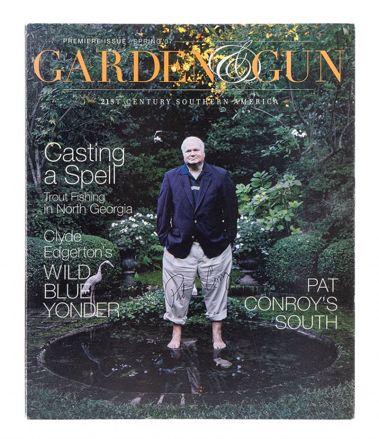 """""""The Lady and the Tiger""""; An essay in Garden & Gun. Premiere Issue, Spring '07. PAT CONROY."""