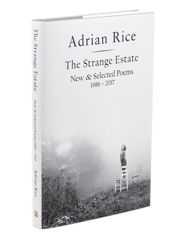 The Strange Estate; New and Selected Poems 1986-2017. ADRIAN RICE.