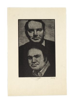 Thomas Wolfe and Pat Conroy [Print]. BARRY MOSER
