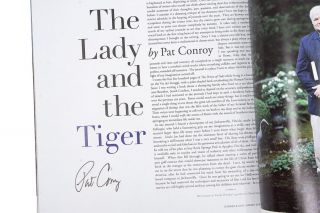 """""""The Lady and the Tiger""""; An essay in Garden & Gun. Premiere Issue, Spring '07"""