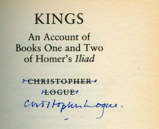 Kings: An Account of Books One and Two of Homer's Iliad